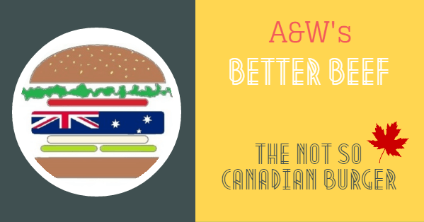 Does A&W really have better beef?