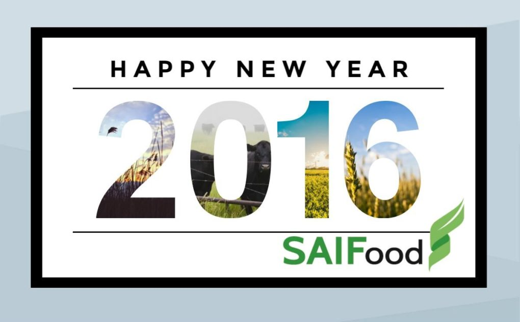 Happy New Year, from SAIFood