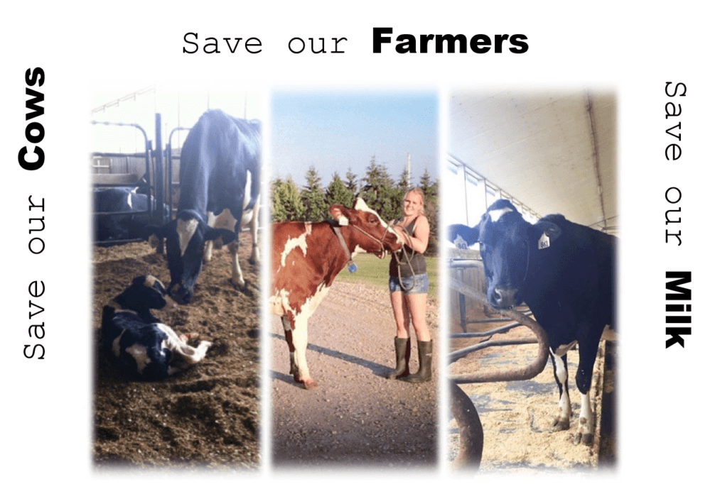 Save our……Cows, Farms, & Milk