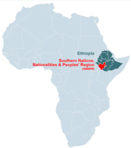 The Southern Nations, Nationalities, and Peoples' Region of Ethiopia