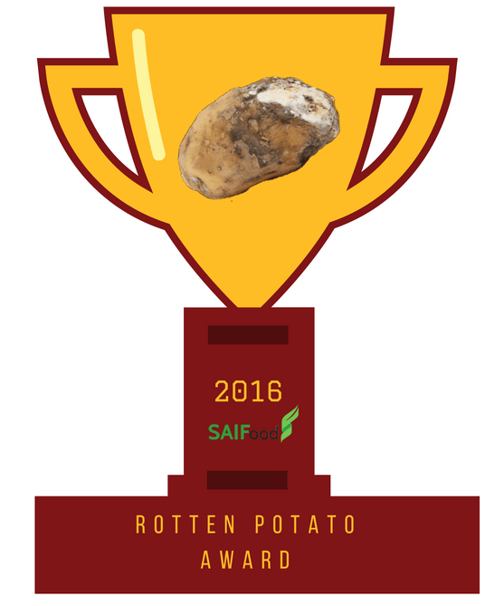 SAIFood Rotten Potato Award, 2016
