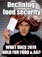 Food security in 2019